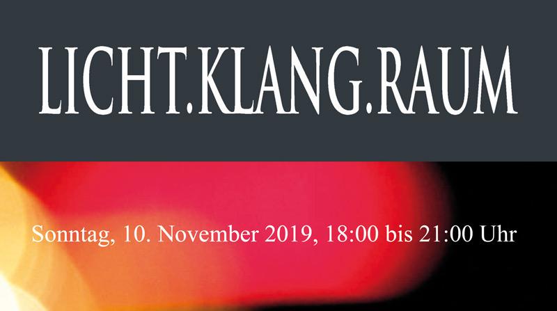 """""""Licht-Klang-Raum"""" in der Christuskirche"""