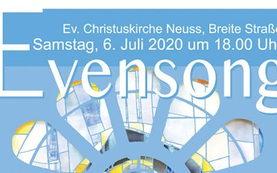 Evensong 2020 am 06.06.