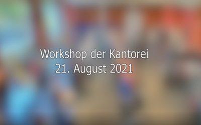 1. Chor-Workshop 2021
