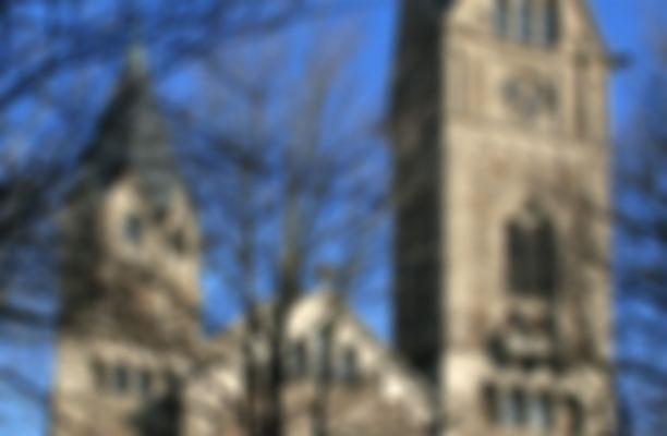 Offene Christuskirche mit Orgelmusik